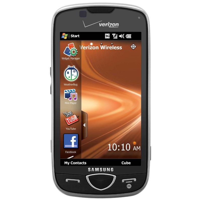 verizon s omnia ii receives software update rh news softpedia com Windows Mobile Samsung Omnia 2 Samsung Omnia 2 Verizon