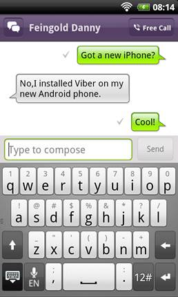 Viber for Android Beta Available for Download