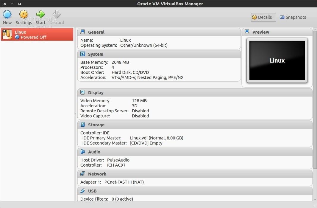Virtualbox mouse capture