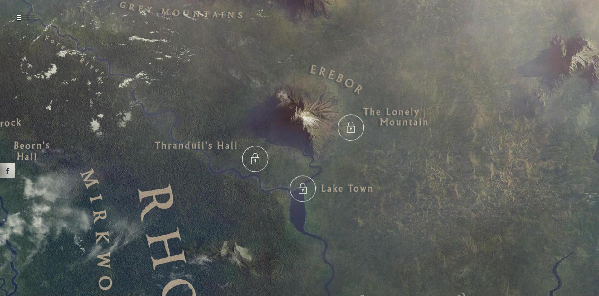 Visit the Middle-Earth with Google's New Experiment – Photos on google earth middle earth, explore middle earth, google maps middle earth,