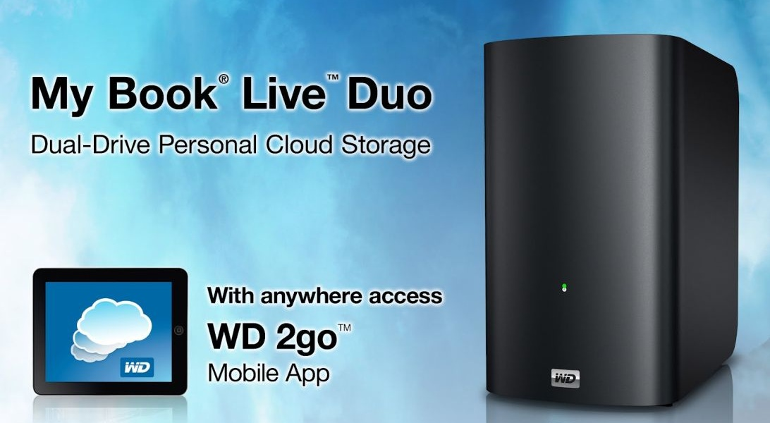 WD Has Released a New Firmware for Its My Book Live Duo NAS