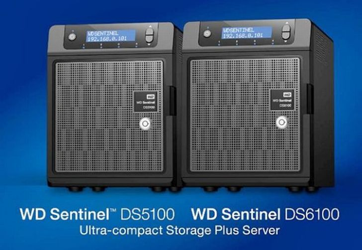 WD Sentinel DS5100 Storage Driver Windows XP