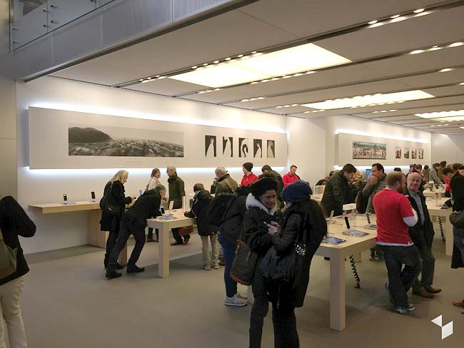 Want a Free Ticket to an Amazing Art Gallery? Visit Your Local Apple