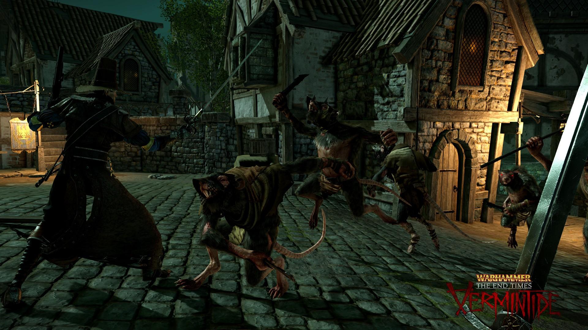 Warhammer End Times Vermintide Revealed Delivers Fantasy