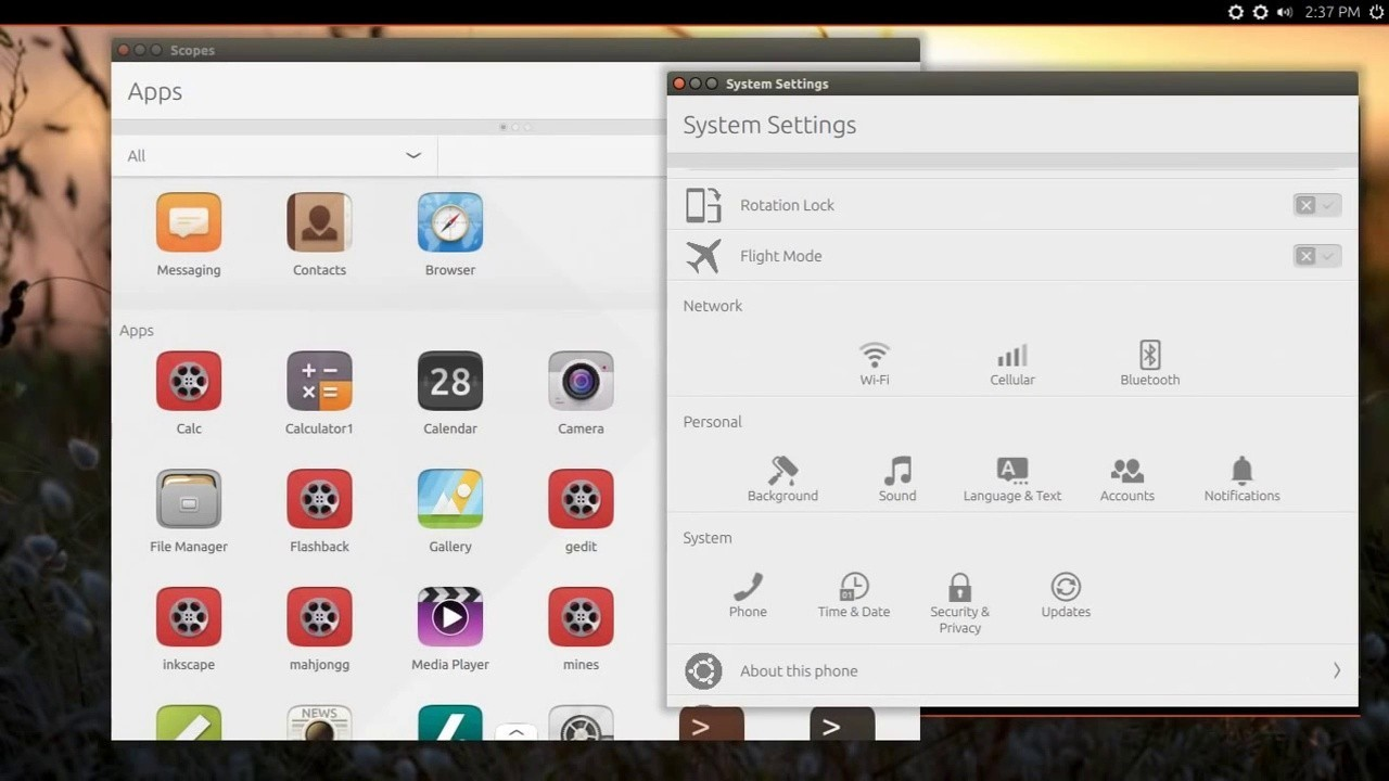Watch Classic Unity 8 Desktop Working in Ubuntu 15 04