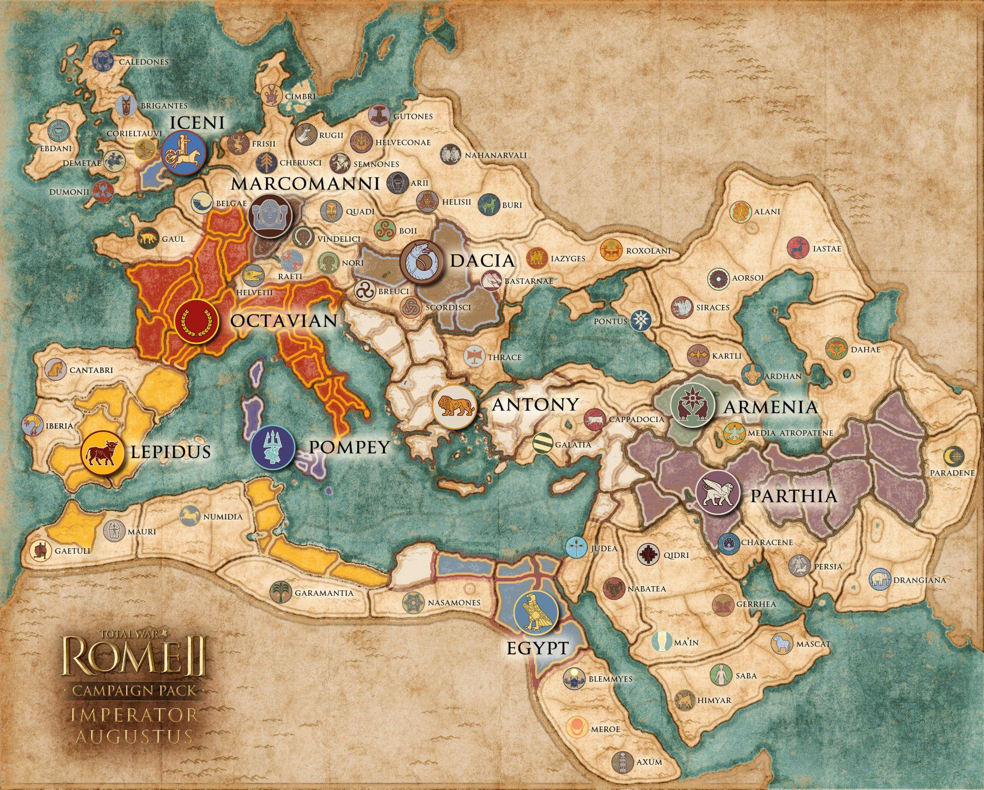 Watch Three Hours Of Total War Rome Ii Imperator Augustus Campaign Action