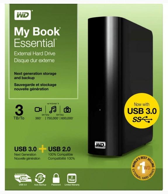western digital my book essential edition drivers