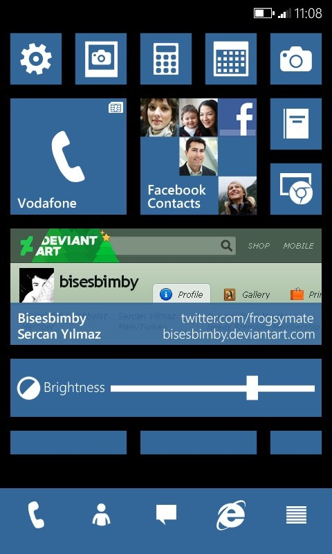 what if microsoft made windows phone 10 look like this