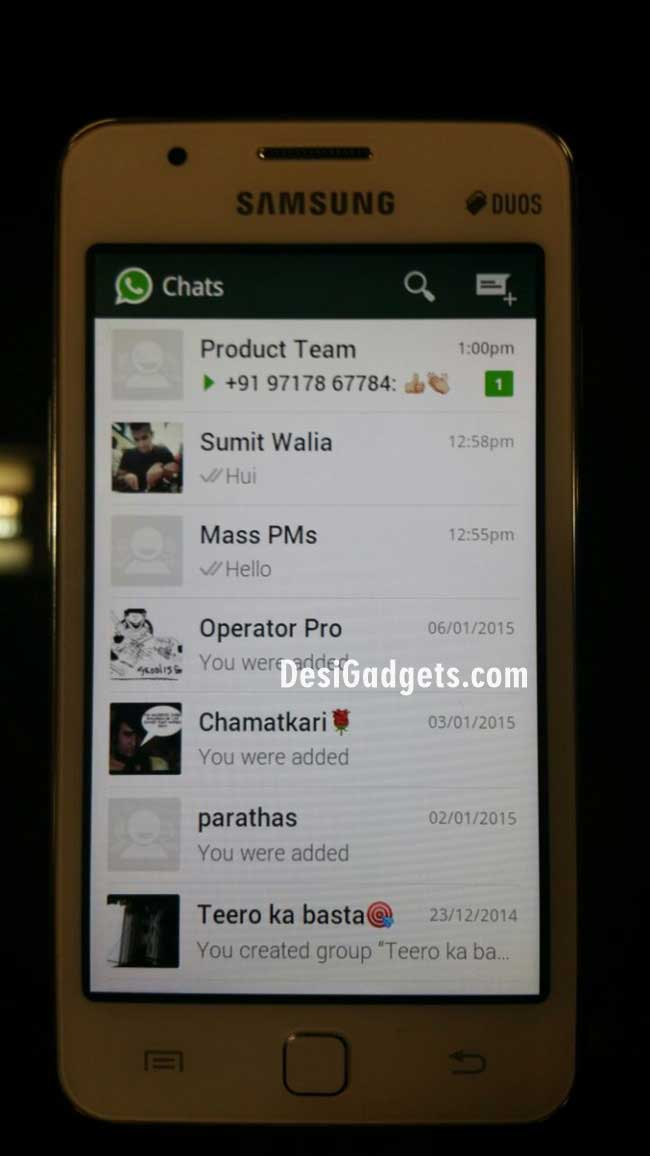 Whatsapp shown running on samsungs z1 tizen smartphone is it native whatsapp shown to work on samsung z1 ccuart Image collections