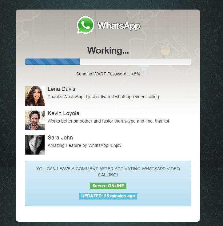 WhatsApp Video Calling Scam Harvests Phone Numbers