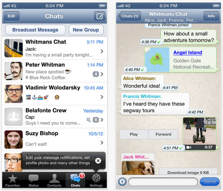 free download whatsapp for iphone 5