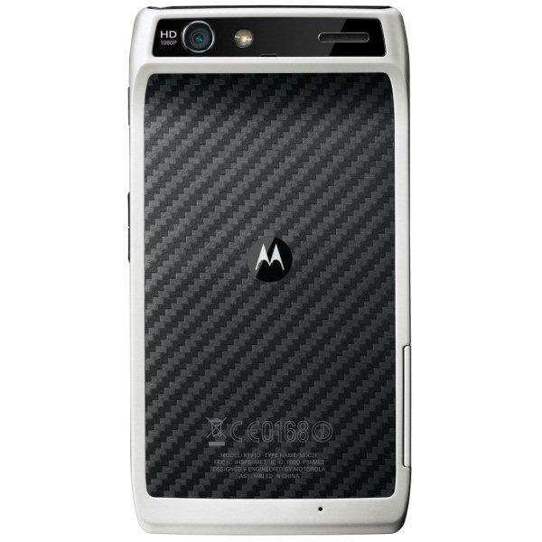 White Motorola RAZR Gets Launched in UAE