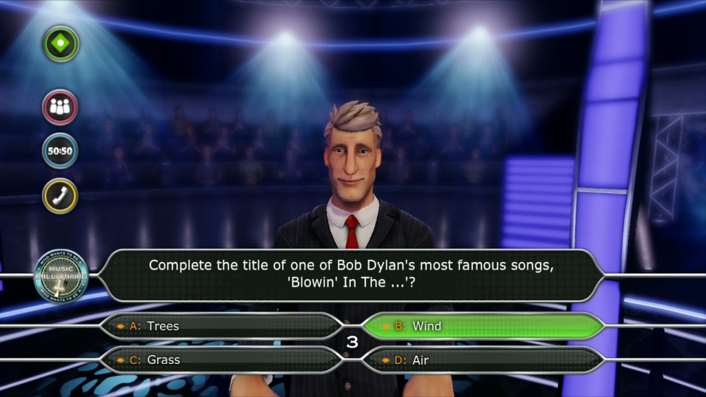 Who Wants To Be a Millionaire Gets Music and Football Challenges