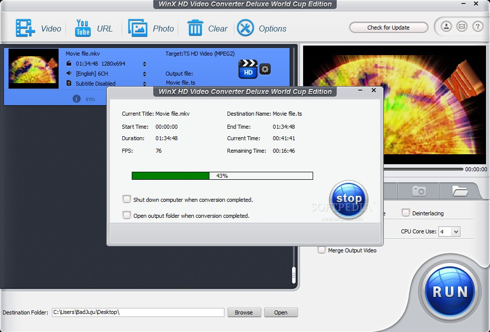 Winx HD Video Converter Deluxe 5.16.2.332 Crack + License Key [2021]
