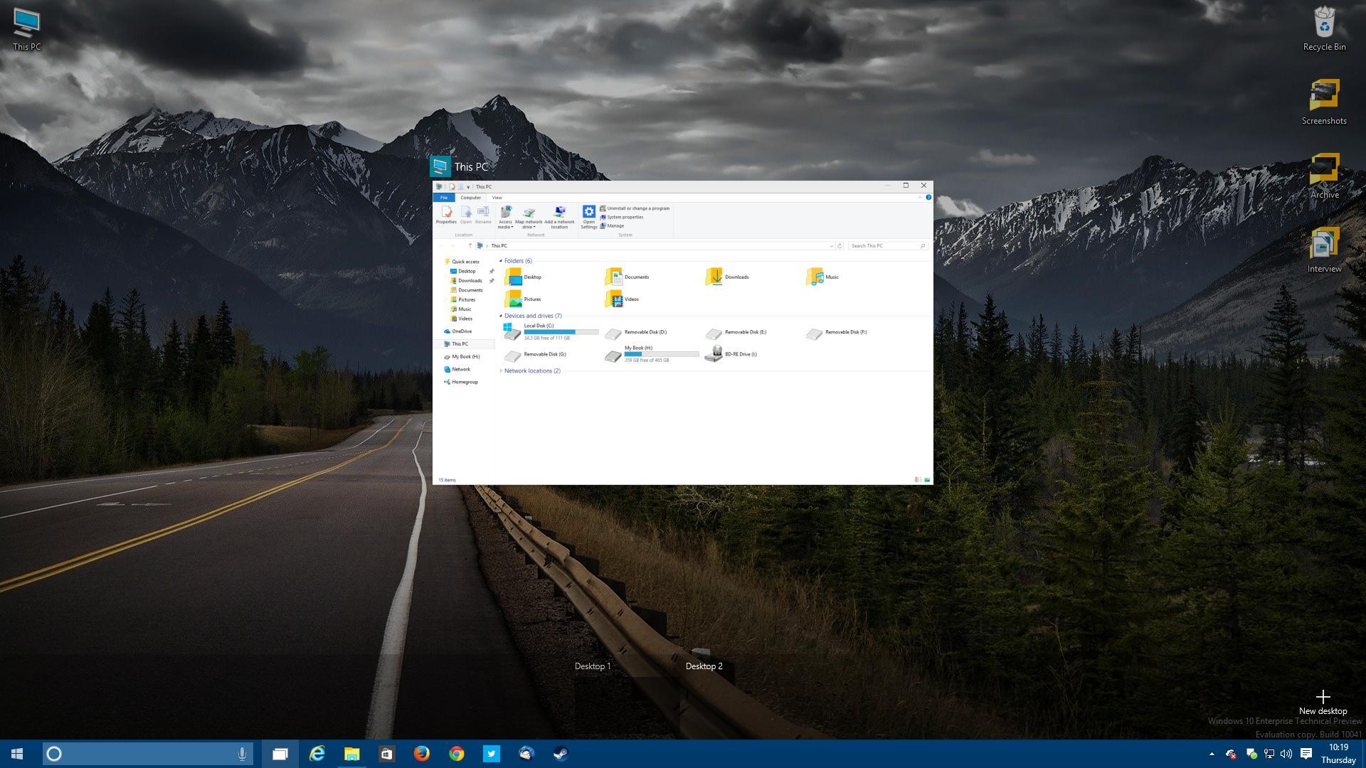 Windows 10 build 10041 photo gallery windows 10 build 10041 file explorer ccuart Gallery