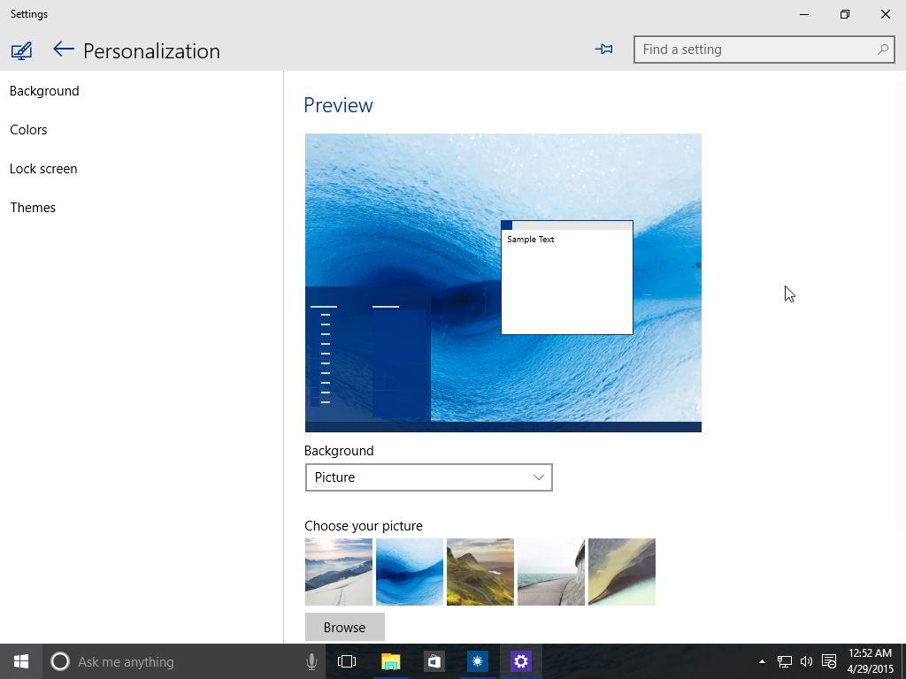 Windows 10 build 10074 screenshots windows 10 build 10074 ccuart Images
