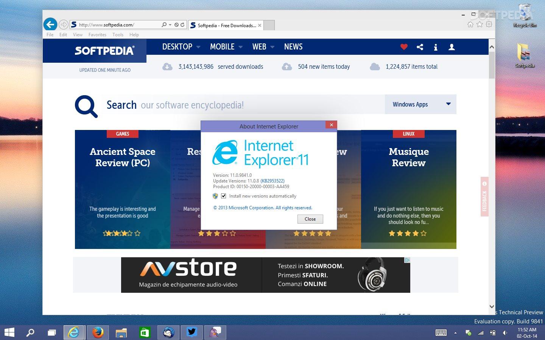 Windows 10: Internet Explorer 12 Missing, but Still a Better Browser