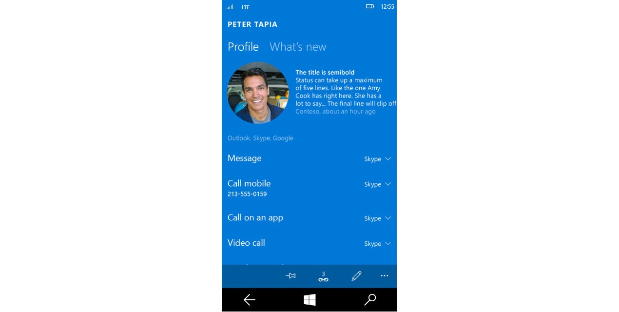 Windows 10 Mobile Allows Users to Set Skype as Default Call