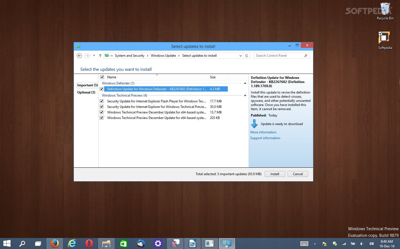 Windows 10 Receives New Batch of Updates