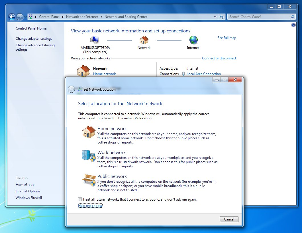 how to find network password on computer windows 7
