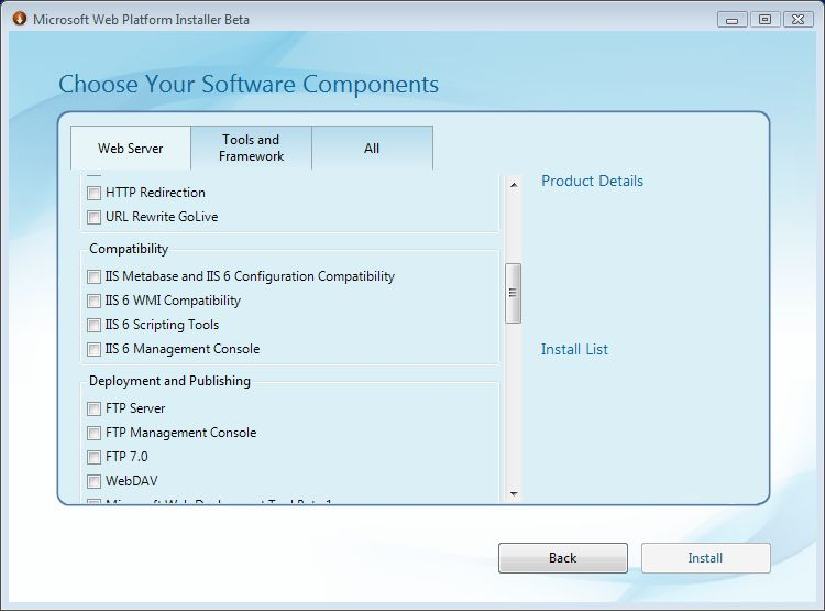 Windows 7 Web Platform Installer Beta Available for Download