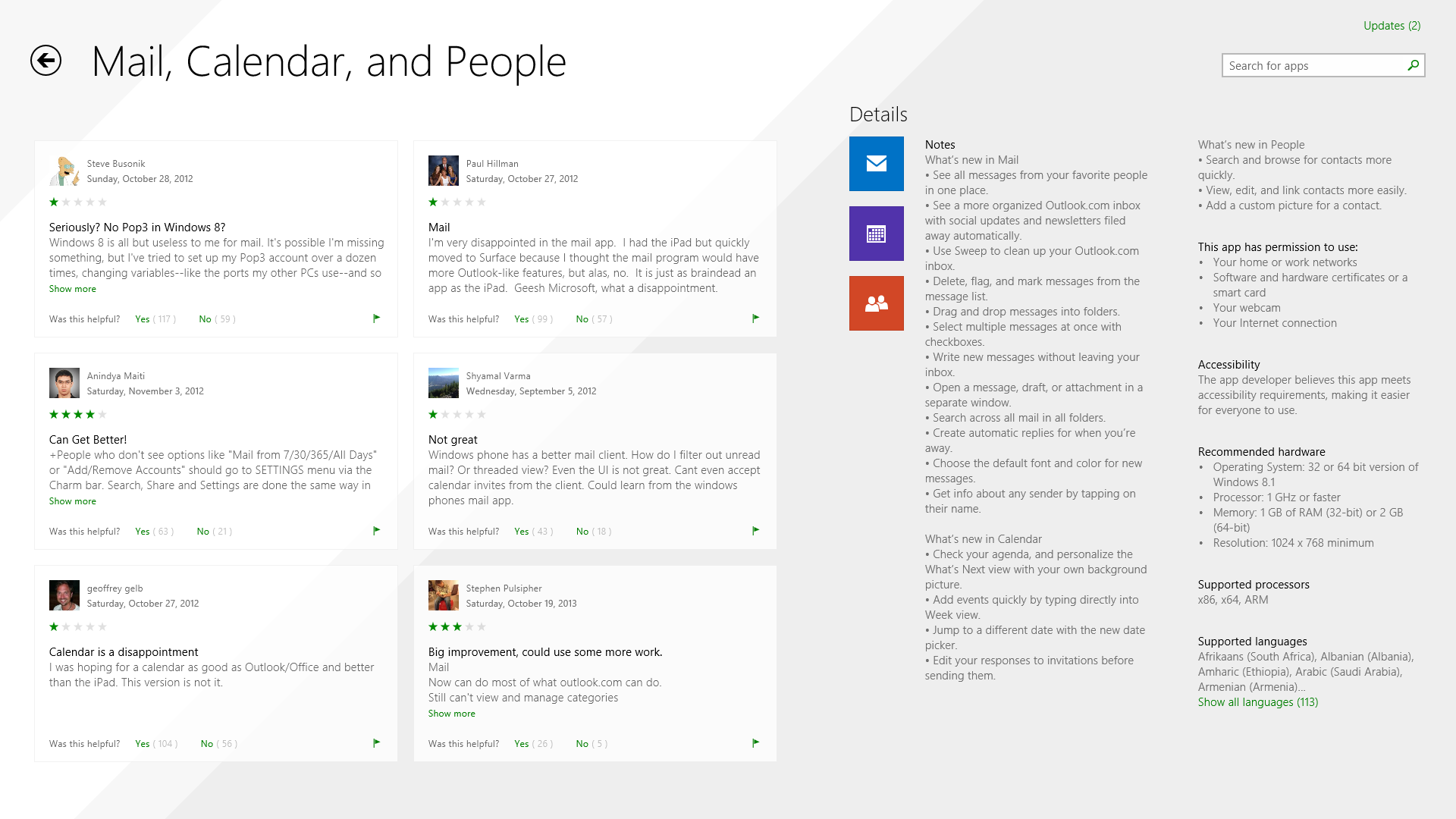 Windows 8 1's Mail App Gets Massive Update – Free Download