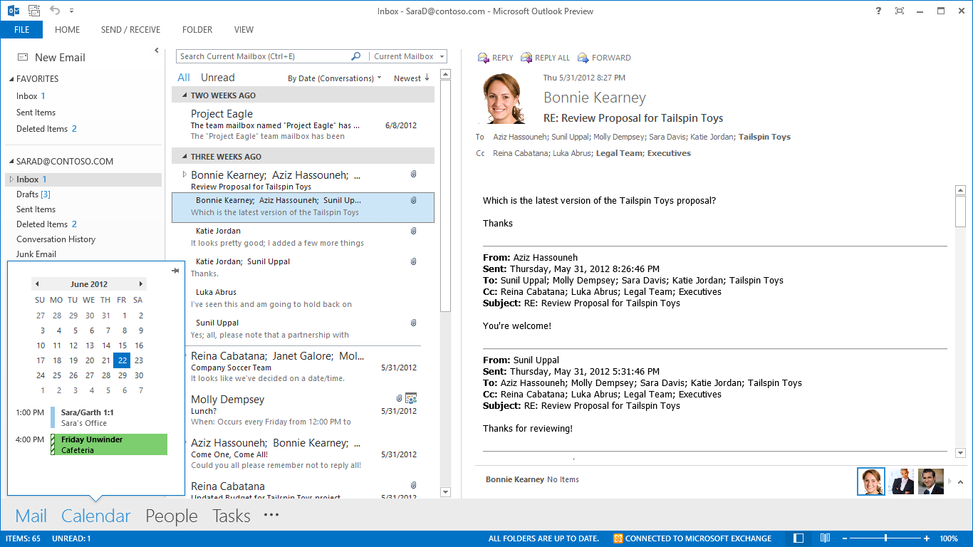 Windows 8 1's Outlook 2013 Desktop Email Client Detailed