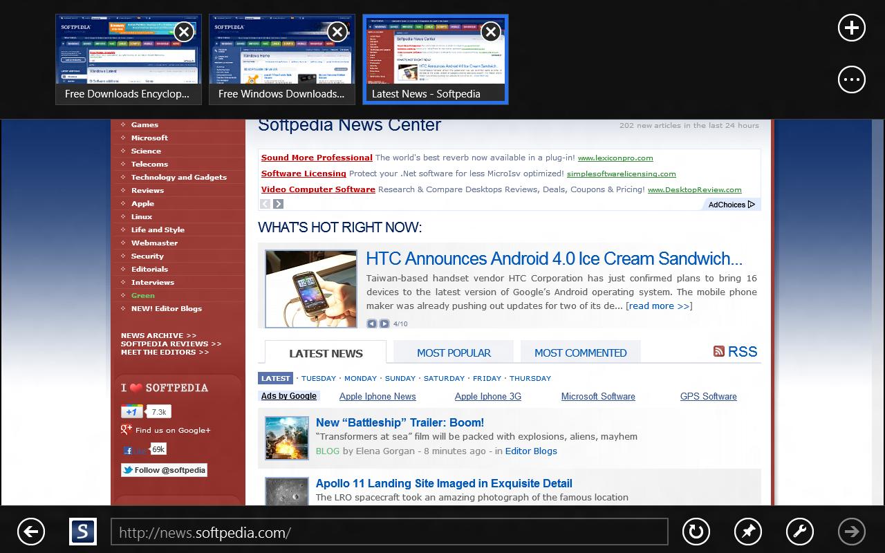 explorer update windows 8