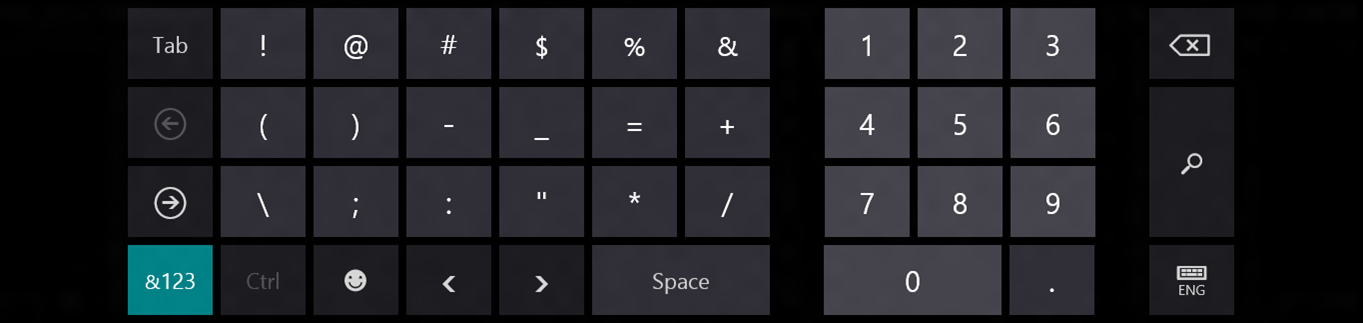 Windows 8's Touch Keyboard Gets Detailed
