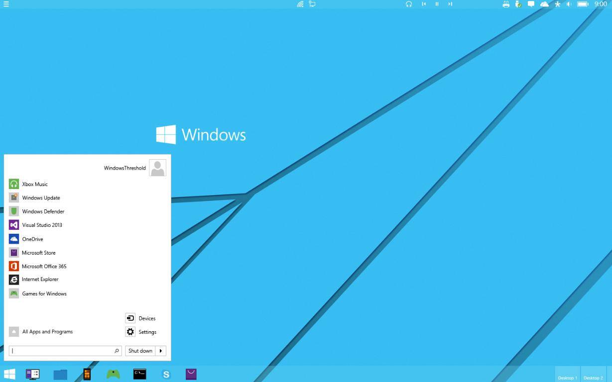 Windows 9 Concept Makes Microsoft's OS Look Stunning