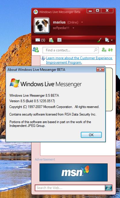 Download windows live messenger 2010 beta filehippo. Com.
