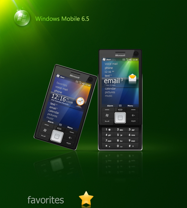Windows Mobile UI Design Concepts Spotted