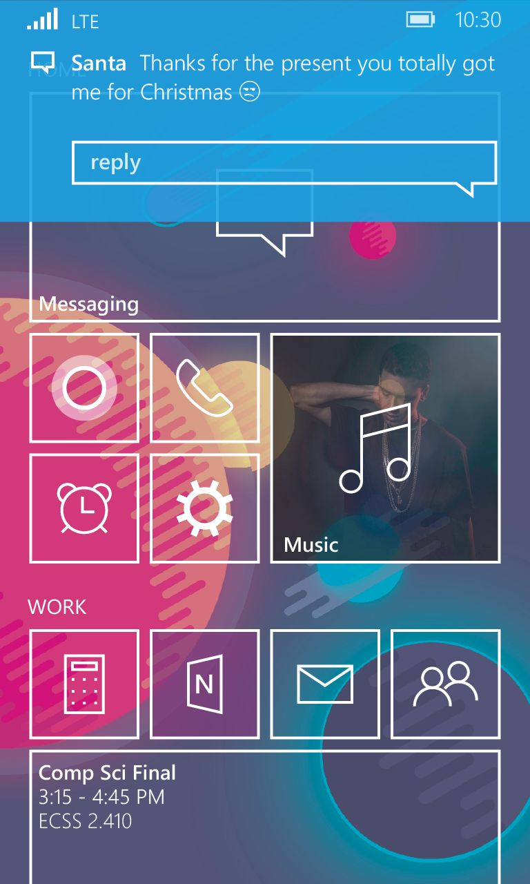 Windows Phone 10 Concept Revamps The Start Screen And