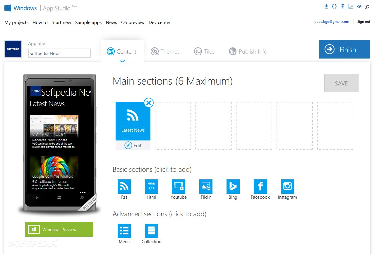 Windows Phone App Builder Updated with New Features