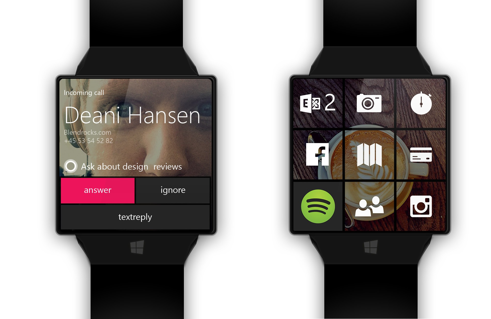 Concept: The Microsoft Smartwatch Could Look Like