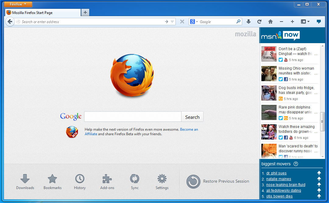 With Firefox 23 Beta, the Social API Is Now Open to All, Not Just