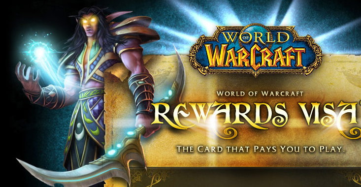 WoW - Blizzard Launches 'The Card That Pays You To Play'