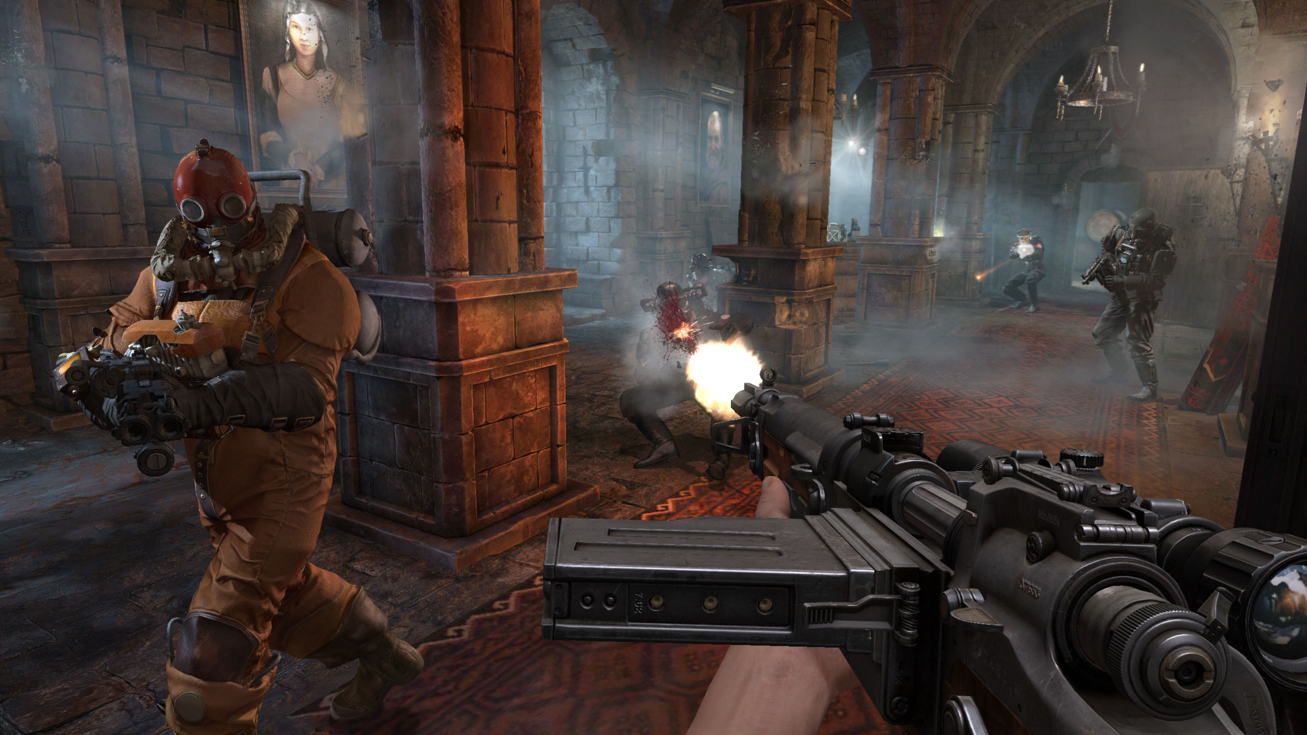 third person shooter video game - HD2560×1440