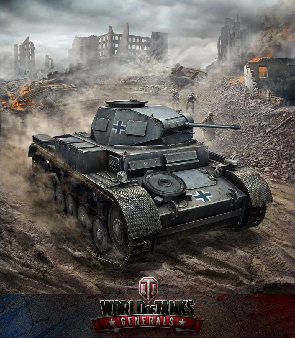 World of Tanks: Generals Mixes Card Battling with World War 2 Warfare