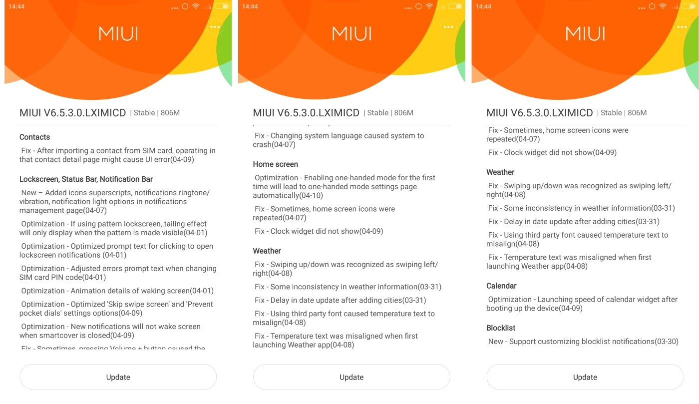 Xiaomi Mi4i Gets Its First Update: It's All About Bug Fixes