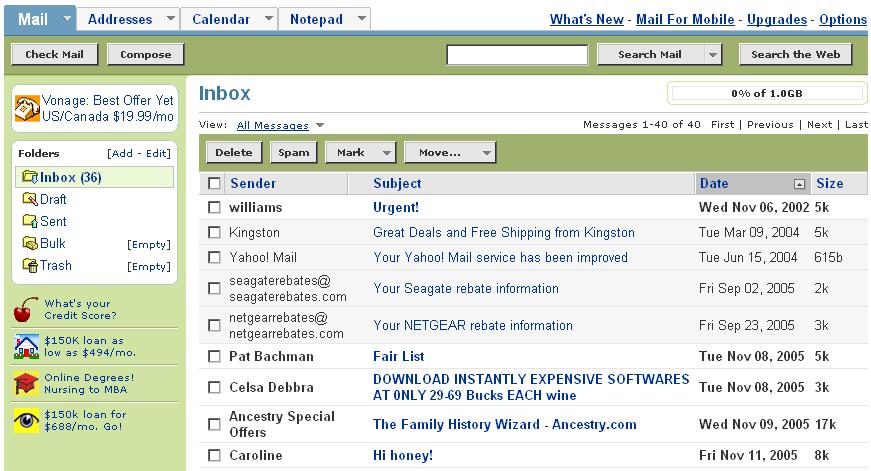 Yahoo Email Com