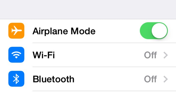how to turn on airplane mode on a mac