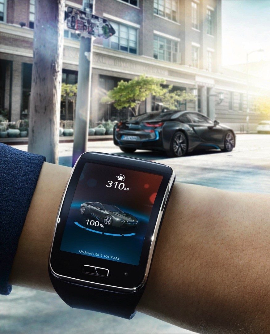 You Can Now Control Your BMW i with the Samsung Gear S