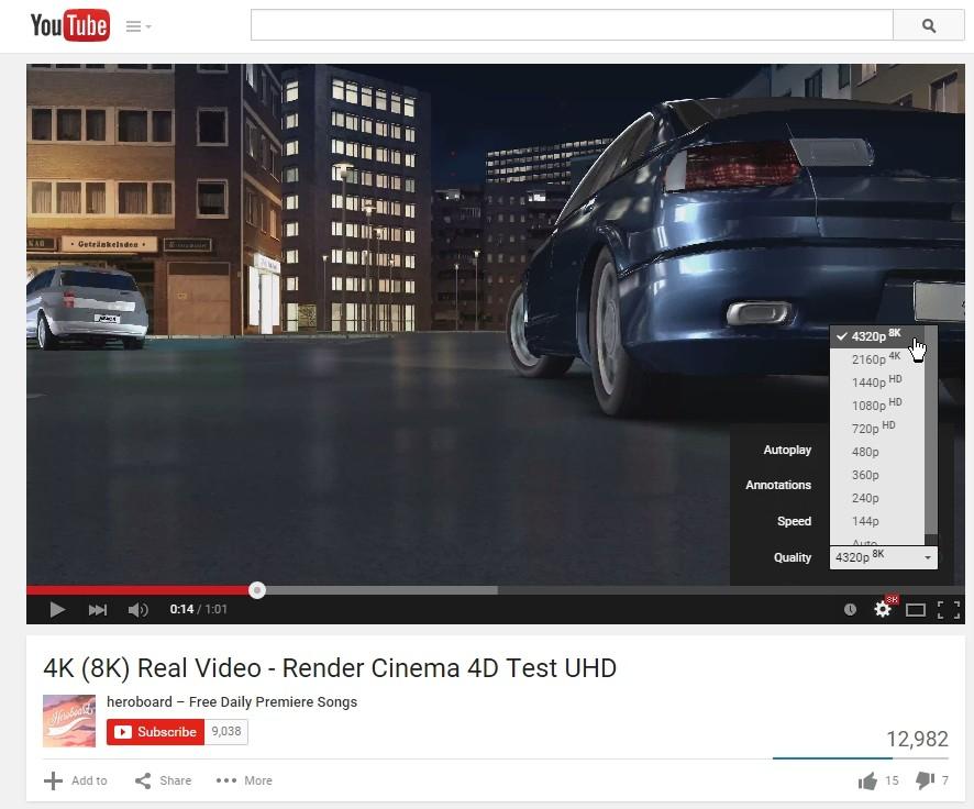 8k Video Test