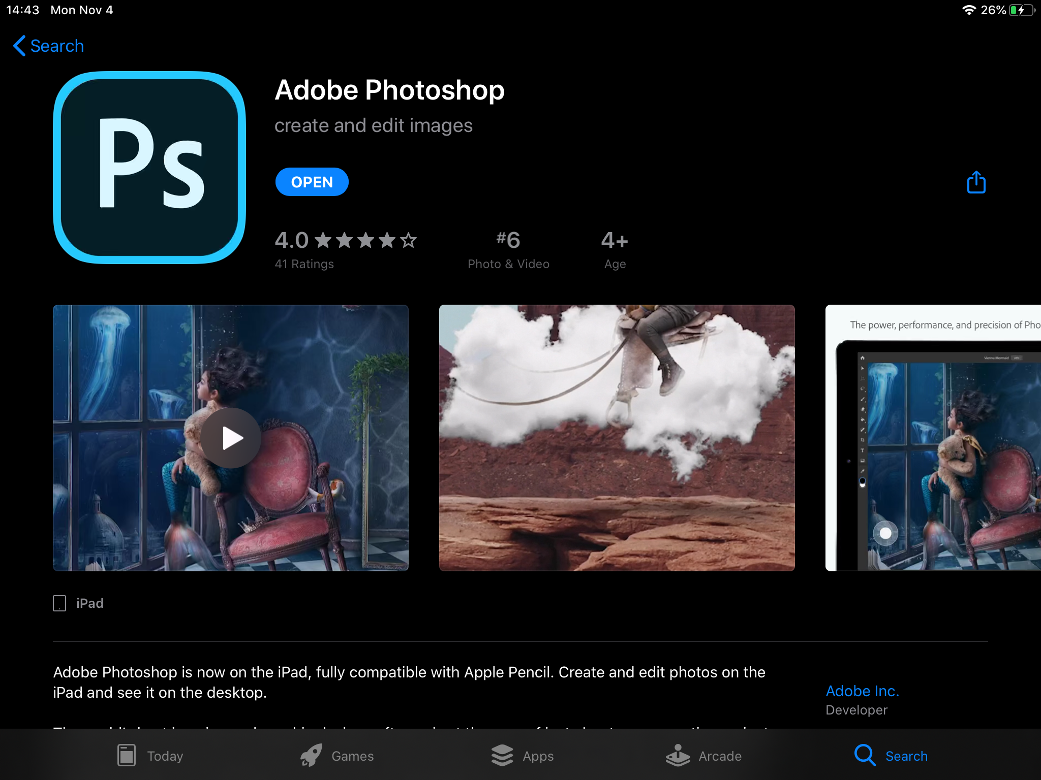 Adobe Max 2019: Photoshop for iPad, Fresco for Windows, and more announced