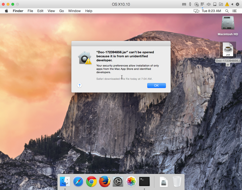Adwind RAT Affects Macs, but It's Almost Useless