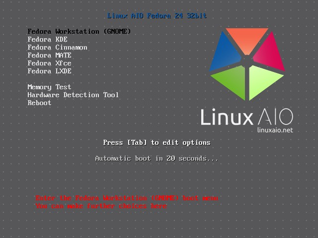 All Fedora 24 Linux Flavors on a Single Live ISO Image Is Now a