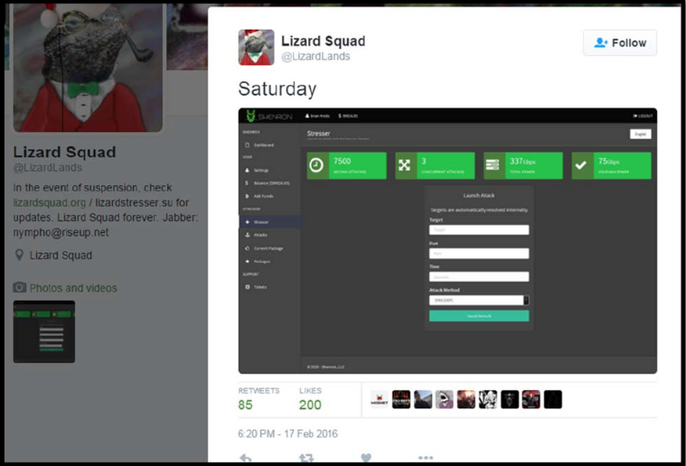 Alleged Lizard Squad and PoodleCorp Members Arrested