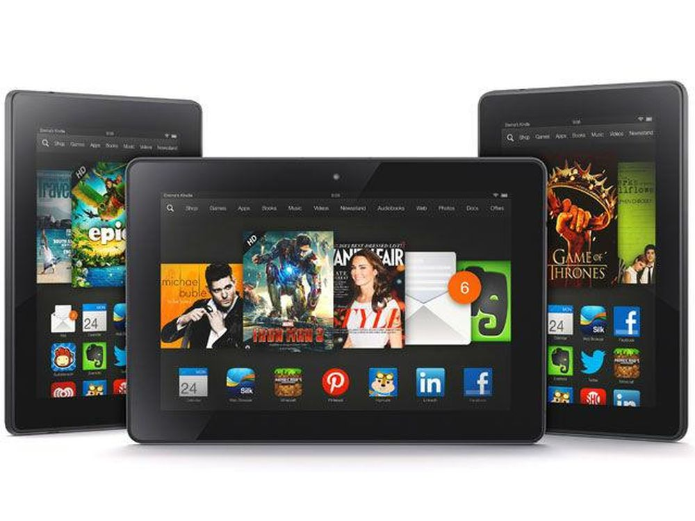 Amazon 4th-Gen Fire HD 6, HD 7, and HDX 8 9 Receive 5 4 2