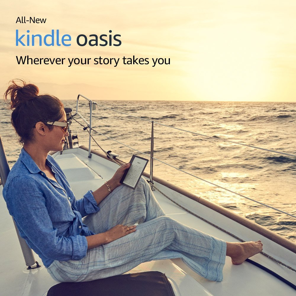 Amazon Kindle Oasis 9th Generation Gets New Firmware - Versions 5 9 2